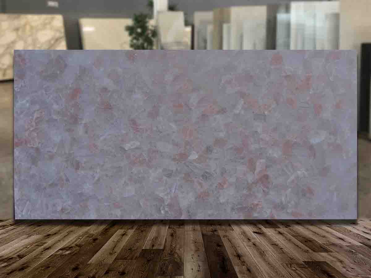 Pink Quartz Dark Top quality Semiprecious Stone Collection ​in Florida.
