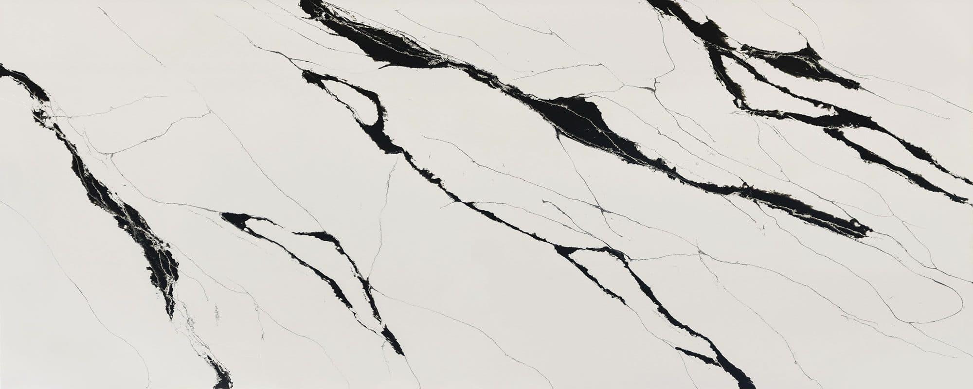 Calacatta Black Quartz Texture