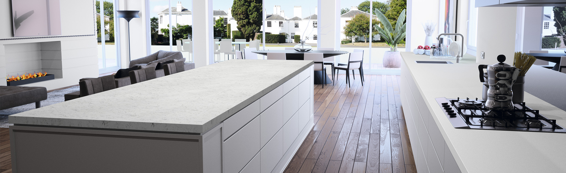Carrara Quartz Model 2
