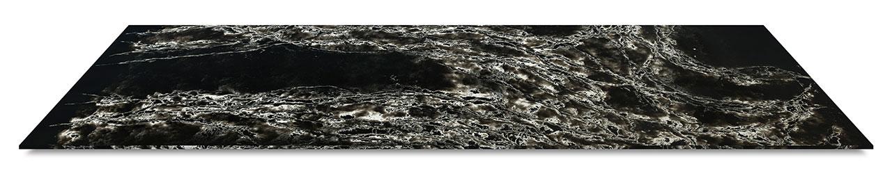 Ice Max Black Quartz Slab