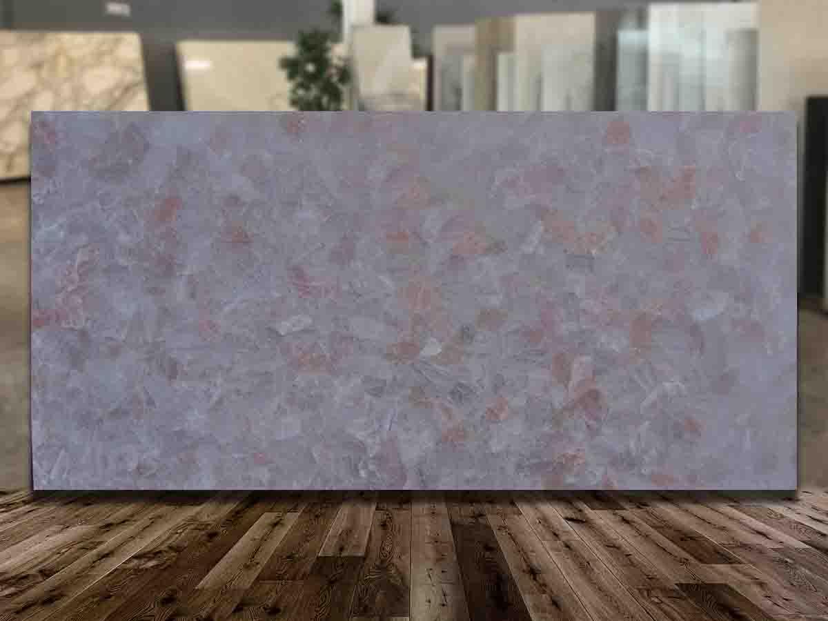Pink Quartz Dark Top quality Semiprecious Stone Collection in Florida.