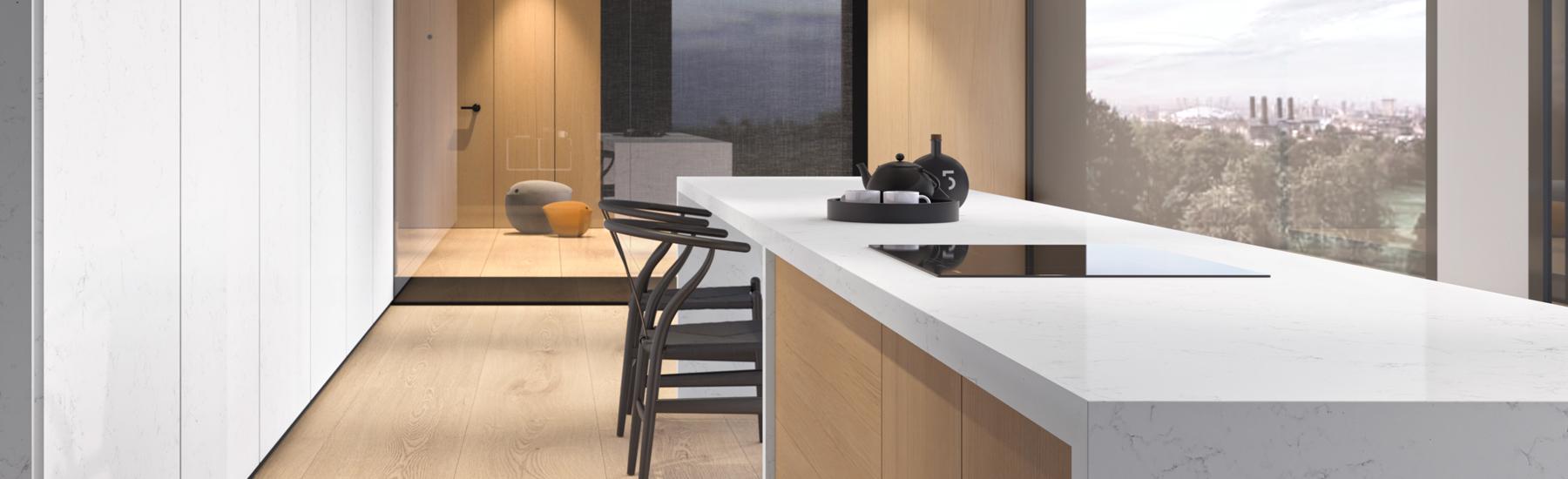 Unique Carrara Quartz Model