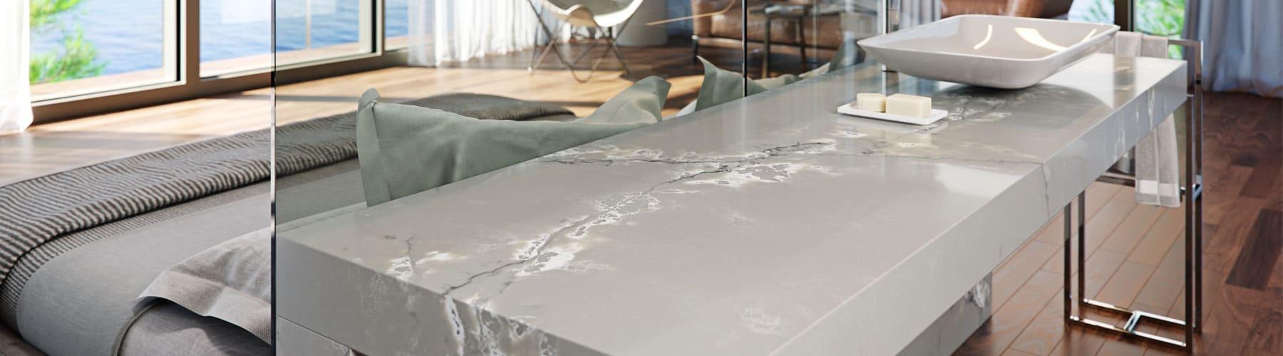 Ice White Quartz Model